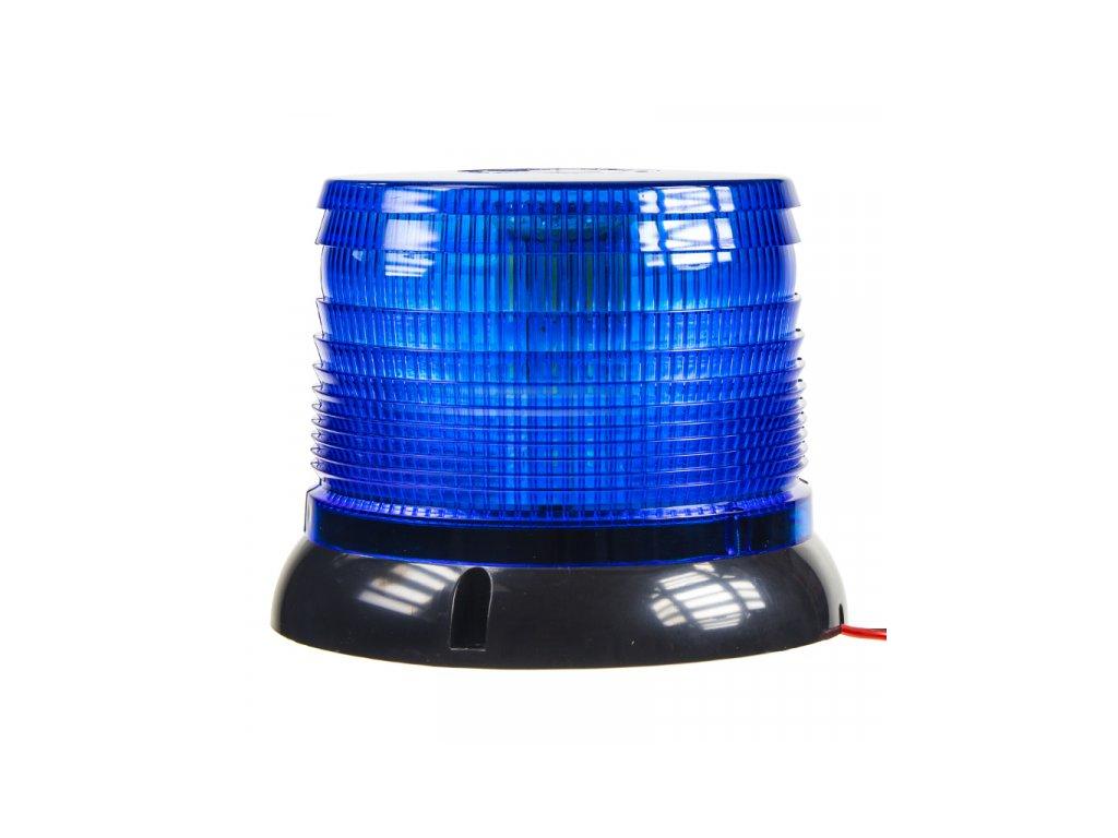 LED maják 12-24V modrý homologace