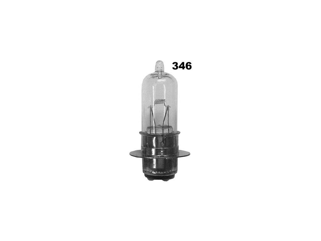 žárovka 6V 25/25W P15d vodorovná vlákna halogenová EAGLEYE