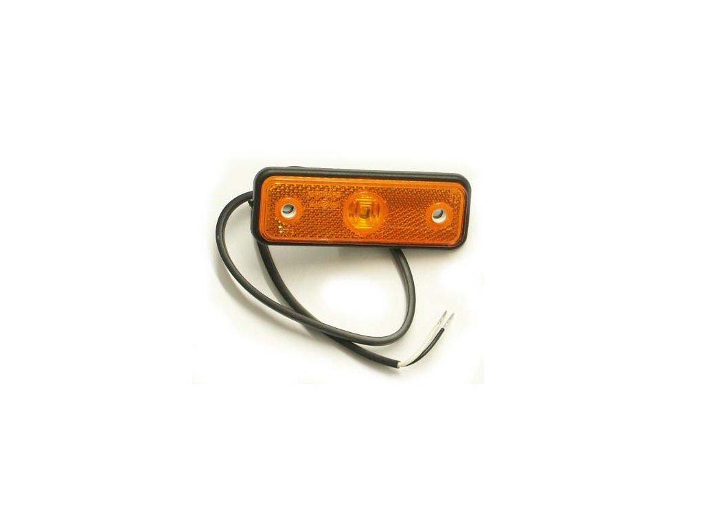 světlo poziční FT-4 LED 12+24V oranžové