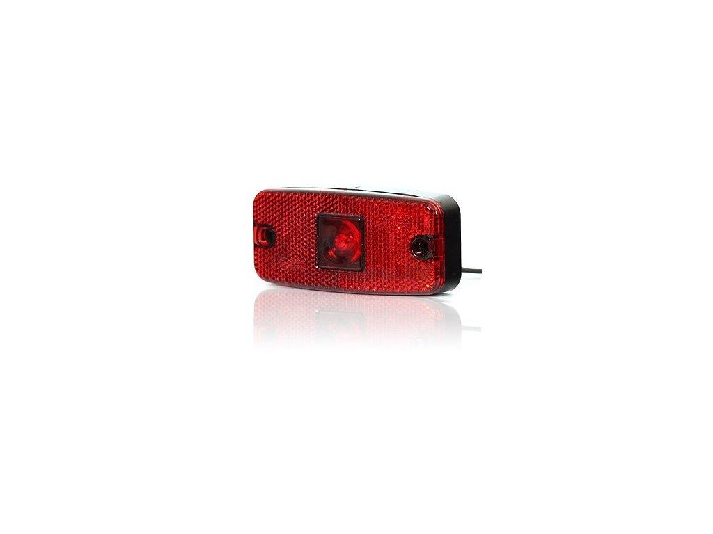 poziční světlo LED červené 12-24V WAS