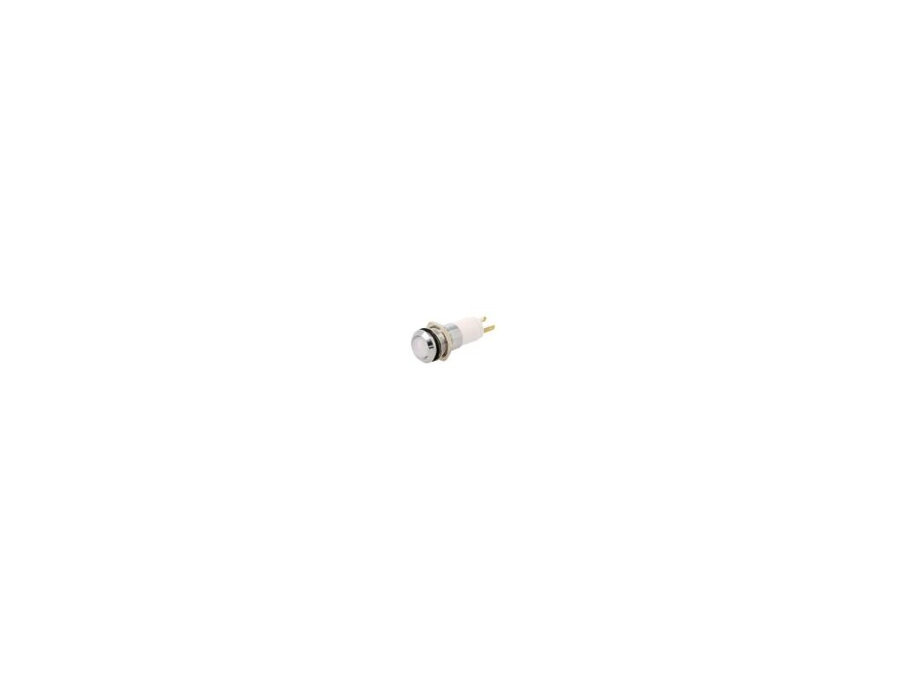 Kontrolka: LED vydutá 12÷14VDC 12÷14VAC Otv: Ø14,2mm IP67 kov