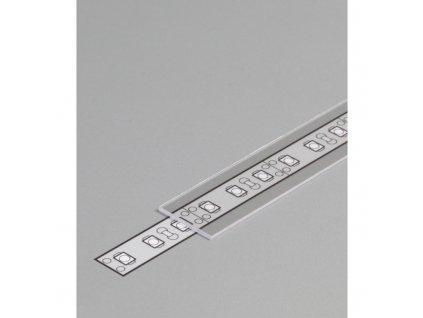 Clonka pro profily LED průhledný 2m V: E zásuvná