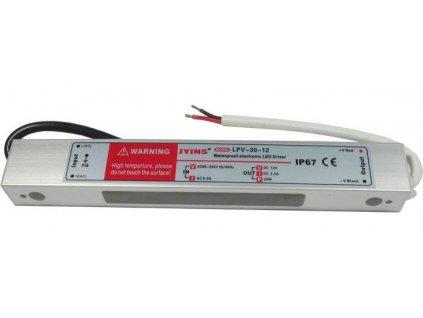 Zdroj - LED driver 12V DC/30W - Jyins LPV-30-12