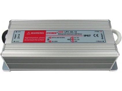 Zdroj - LED driver 12V DC/60W - Jyins LPV-60-12