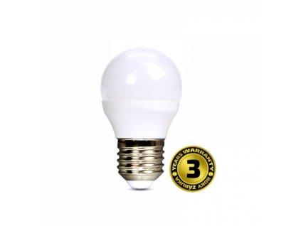 LED žárovka miniglobe 6W E27 6000K 450lm