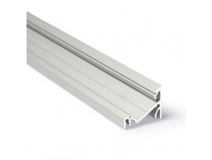 Profil pro moduly LED úhlové přírodní L: 2m hliník 30/60°