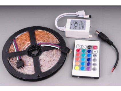 samolepící LED pás 500cm 300ks SMD LED RGB s DO