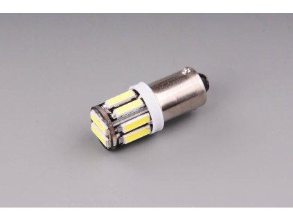 žárovka LED 12V 4W BA9s 10xLED 7020