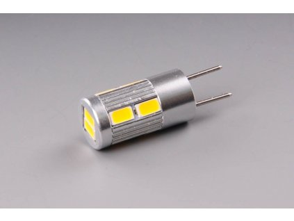 žárovka LED 12V-24V G6,35 200lm 10xLED 5630