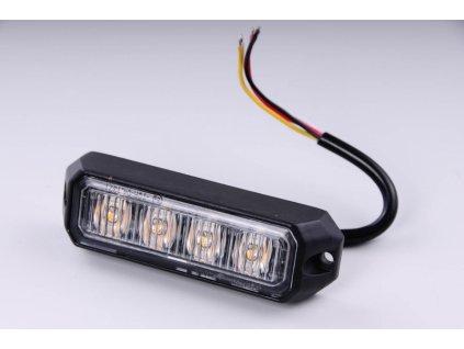 světlo výstražné LED oranžové PREDATOR 4*3W