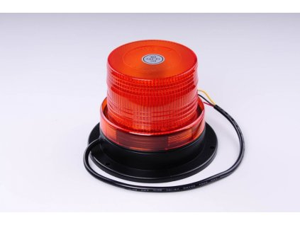 maják LED pevný 12V-24V oranžový 40 SMD5730