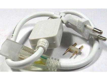 Napájecí koncovka pro LED pásek 230V, 2P, šířka 12mm