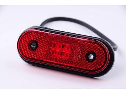 světlo poziční FT-20 LED 12+24V červené