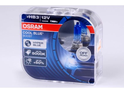HB3 12V 100W P20d 9005 Cool Blue Boost 2ks BOX OSRAM