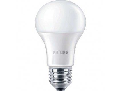 PHILIPS E27 11W 4000K 1055lm náhrada 75W; LED žárovka A60 NonDim