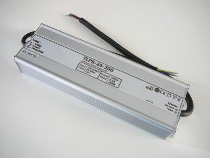 LED zdroj 24V 200W IP67 - 24V 200W zdroj  IP67 TLPS-24-200