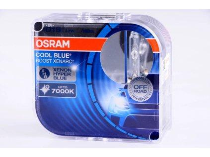 krabička D1S 85V 35W PK32d-2 COOL BLUE BOOST 2 ks OSRAM