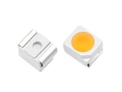 LED SMD 3528 bílá 7500K 1,5Cd/ 20mA 120°