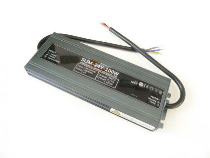 LED zdroj 24V 100W SLIM-24V-100W - SLIM-24V-100W zdroj IP67