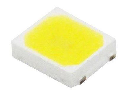 LED SMD 2835 bílá teplá 3000K, 25lm/ 0,2W 120°