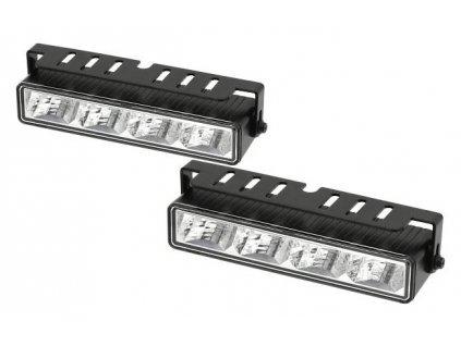 světlomet pro denní svícení DRL-2x4 LED 12V/24V HI POWER