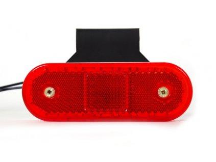 světlo poziční W47WW (536Z) LED 12+24V červené