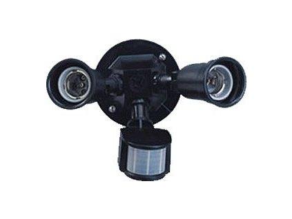 Nástěnné světlo s PIR ST65, 230V/2x150W