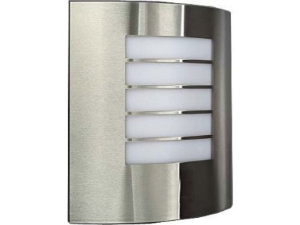Nástěnné světlo nerezové 230V E27 max.60W