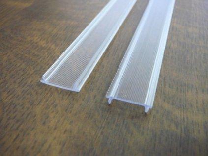 Difuzor ALU profilu D1 click - Nacvakávací čirý 1m