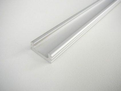 LED profil N2 - nástěnný - Profil bez krytu 2m