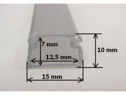 LED profil FLEX - FLEX profil 2m