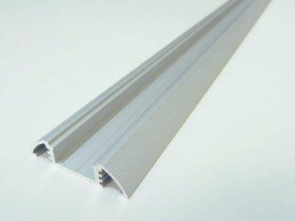 LED profil N10 - nástěnný - Profil bez krytu 1m