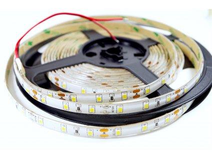 LED pásek 12V 12W/m 60LED studená bílá 2835 IP67