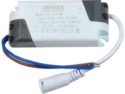 Zdroj-LED driver 8-12W, 230V/23-42V/280mA pro podhled.světla M117,M118