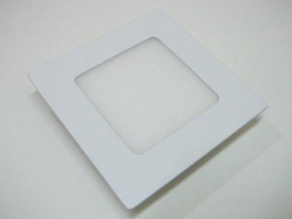 LED podhledové světlo 6W čtverec 120x120mm - Denní bílá