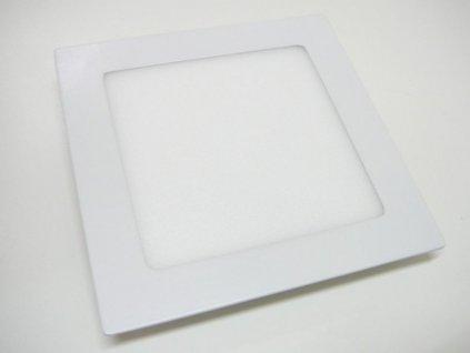 LED podhledové světlo 12W čtverec 171x171mm - Denní bílá