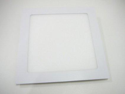 LED podhledové světlo 18W čtverec 225x225mm - Denní bílá