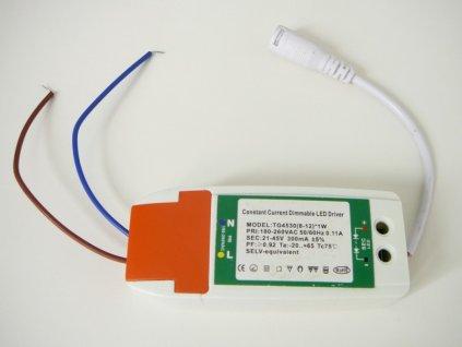 Stmívatelný zdroj pro 9W a 12W panel