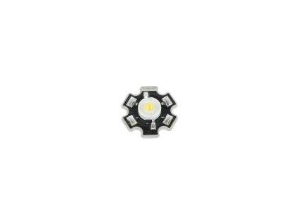 LED výkonová STAR bílá teple Pmax: 3W 2850-3250K 92,9÷250,9lm