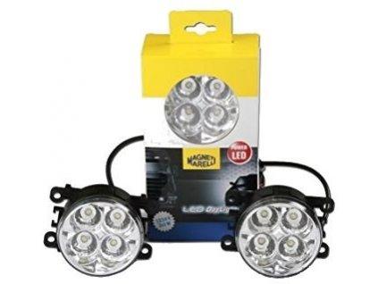 světlomet pro den. svíc. DRL-MM 12V-24V kulatý