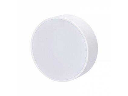 LED panel s tenkým rámečkem, 16W, 1280lm, 3000K, přisazený, kulatý, bílý