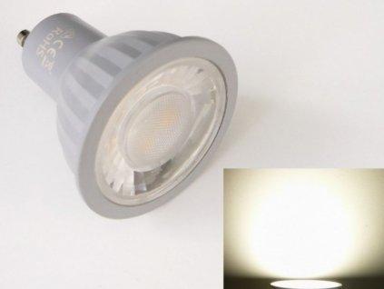 LED žárovka GU10 EV7W - Denní bílá