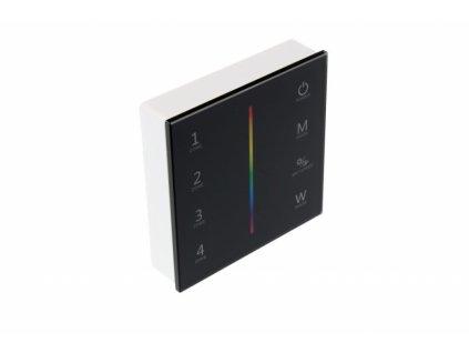 Ovladač dimLED OV DUPLEX 1K - dimLED ovladač OV WRF-RGBW-4CH černý