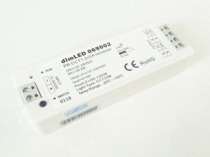 Přijímač dimLED PR CCT1 - dimLED přijímač PR CCT1 2x5A