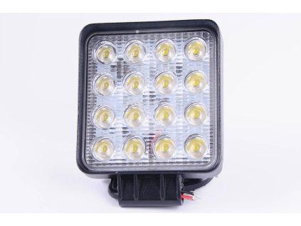 Světlomet LED 48W pracovní čtvercový 10-30V