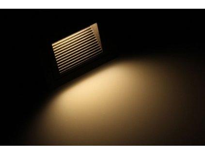 LED vestavné svítidlo LOPEN-B-IP65 černé - Teplá bílá