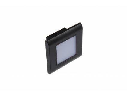 LED vestavné svítidlo RAN-B černé - Studená bílá