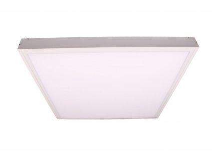 Rám LED panelu E6060 pro přisazení hliníkový bíle lakovaný