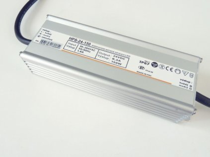 LED zdroj 24V 150W HPS-24-150 Záruka 5 let - 24V 150W zdroj HPS-24-150 Záruka 5 let