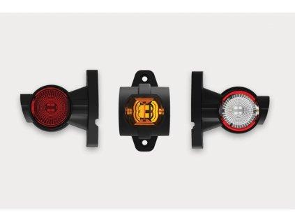 světlo poziční tykadlo LED FT-140A L 12+24V levé krátké FRISTOM